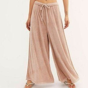 NWT Free People Make It Maxi Wide Leg Pants - S